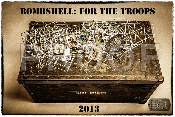 Bombshell: For the Troops 2013 Old 81 Pin-ups Old 81 Studios Photography USA