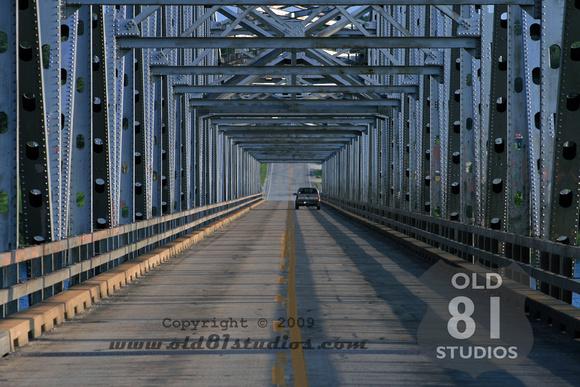 The Shell Knob, MO Bridge sitting over Table Rock Lake.